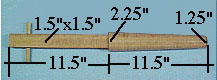 Jong Arm Dimensions